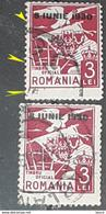 """Error Revenues Stamp Roumanie 1930  """" Stamps Official"""" With Surcharge 8 June 1930 - Variedades Y Curiosidades"""