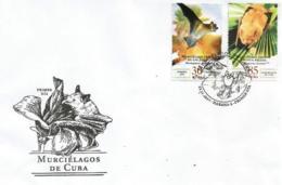 Cuba 2019 Bats 6v + S/S FDC`s MNH - Fledermäuse
