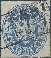 Germania Germany Deutschland,Prussia Perussen 1861 Coat Of Arms,2Sgr - Prusse