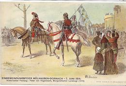 68 DORNACH . LOT 1 De 7 Belles Cartes Du Haut-Rhin , état Extra - Postkaarten