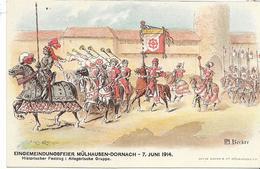 68 DORNACH . LOT 2 De 6 Belles Cartes Du Haut-Rhin , état Extra - Postkaarten