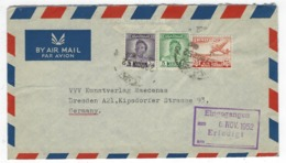 IRAQ - Cover 29.10.1952 Posted To Germany - 096 - Iraq