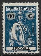 Angola – 1921 Ceres Type 60 Centavos - Angola