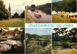 CHATEAUNEUF DU FAOU L Ecluse De Bizernic Le Vieux Pont 11(SCAN RECTO VERSO )MF2714 - France