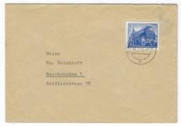 DEUTSCHLAND/ DDR – Brief Nach Saarbrücken, 30.7.1953, Frankfurt # 361 – 1697 - [6] República Democrática