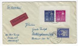 DEUTSCHLAND/ DDR  –  Express - Brief Mit Marken Aus Block 11 + Zus. Fr.   – 1794 - [6] República Democrática