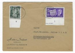 DEUTSCHLAND/ DDR  –  Brief Mit 2x Sperrwert, # 474 + 481   – 1798 - [6] República Democrática