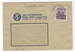 DEUTSCHLAND/ DDR  –  Brief, Geschäftspost, 12.11.1954, Mit # 493, Rathaus – 1808 - [6] República Democrática