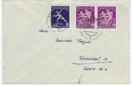 DEUTSCHLAND/ DDR – Doppel-Brief M. # 531 + 532 (2x) - Sportfest – 1826 - DDR