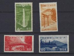 JAPAN - Commemoratives- JSCA # P 5 - 8,  National Park, ** Mint Never Hinged  MNH  - 2128 - 1926-89 Imperatore Hirohito (Periodo Showa)