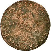 Pays-Bas Espagnols, Jeton, Philippe IV, Etats De Lille, 1630, TTB, Cuivre - Nederland