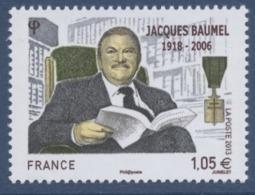 N° 4754 Jacques Baumel Faciale 1,05 € - France