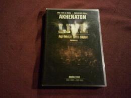 AKHENATON   ° LIVE AU DOCK DES SUDS  MARSEILLE  DOUBLE DVD DVD VIDEO + DVD ROM - Concert & Music