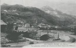 TIGNES - VUE GENERALE - VERS 1900 - France
