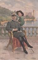 CARTOLINA - MILITARE - In Vista Di Trieste - Vittorio Emanuele III - Padvinderij