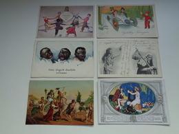 Beau Lot De 60 Cartes Postales De Fantaisie      Mooi Lot Van 60 Postkaarten Fantasie   - 60 Scans - 5 - 99 Cartes