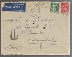 25506 - Par Avion Pour Le MAROC - Airmail