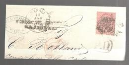 25517 - PIROSCAFI POSTALI NAZIONAL - 1861-78 Victor Emmanuel II.