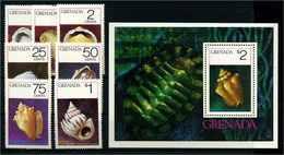 GRENADA 1975 Nr 685-691 Postfrisch (110236) - Umweltschutz Und Klima