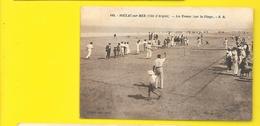 SOULAC Sur MER Rare Les Tennis Sur La Plage (Jaclot/Bloc) Gironde (33) - Soulac-sur-Mer
