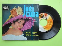 JOE CUBA - DIRTY FACE - BAYAMO Y EL CHA CHA CHA - CON MI MAMBO - MUNEQUITA LINDA -  Disque Vinyle 45t BIEM - Musiche Del Mondo