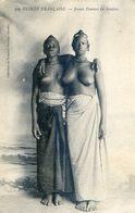Guinée Francaise - Jeunes Femmes Du Soudan - Seins Nus - Guinea Francesa