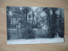 Cpa 59 Le Maisnil Chateau Carlier - Francia