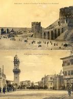 Syrie - Alep - Lot De 2 Cartes - Citadelle , Hopital , Place Horloge - Syrië