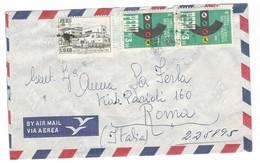 COVER CORREO AEREO PEROU - LIMA - ROMA - ITALIA - 1966. - Peru