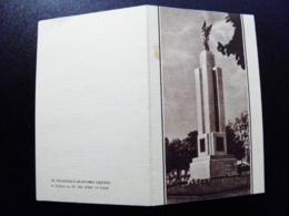 Card Carte Karte Lithuania Kaunas Monument Angel Of Freedom Valancius - Litouwen