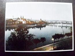 Card Carte Karte Lithuania Kaunas 1956 Panorama Night River Bridge - Litauen