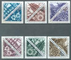 REPUBLIQUE RWANDAISE - 1967 - MNH/*** - CENTRALE HYDROELECTRIQUE - COB 199-204  - Lot 20744 - 1962-69: Neufs
