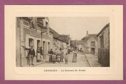 Cpa Crancey Le Bureau De Poste  - éditeur Wendling - Francia