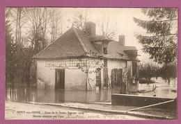 Cpa Mery Sur Seine Crue De La Seine - Janvier 1910 Maison Envahie Par L'eau - Pierre Fevre Phot - Francia