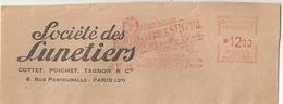 Ema Havas GW - Machine De Remplacement - Vue - Lunette - Devant D'enveloppe - Postmark Collection (Covers)