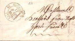 1835 SAINT TROPEZ 12-551   LYON - 1801-1848: Vorläufer XIX