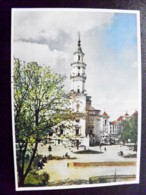 Card Carte Karte Lithuania Kaunas 1956 Town Hall - Litauen