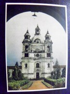 Card Carte Karte Lithuania Kaunas 1956 Pazaislis Church - Litauen