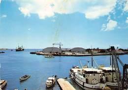 Africa Afrique Harbour Et Customs Port-Louis  Bateau Winnie  Ile Maurice Mauritius Photo Card Carte   Barry 1978 - Mauritius