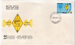 Sri Lanka Stamp On FDC - Sri Lanka (Ceylon) (1948-...)