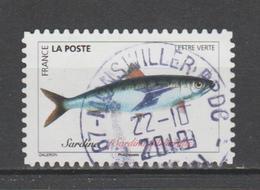 "FRANCE / 2019 / Y&T N° AA 1692 : ""Poissons De Mer"" (Sardine) - Oblitéré 2019 10 22. SUPERBE ! - France"