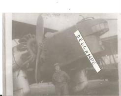 PHOTO AVION LIORé ET OLIVIER LEO 20 ? AVEC PILOTE POSANT DEVANT  10X7CM - Aviazione