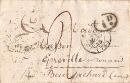1855  BOURG ACHARD 14-132 - 1849-1876: Classic Period