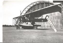 PHOTO AVION LIORé ET OLIVIER LEO 258 HYDRAVION AERONAUTIQUE NAVALE  RETIRAGE ? 14X10CM - Aviation