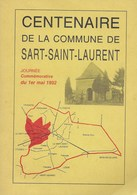 Centenaire De La Commune De Sart-Saint-Laurent. 1992. Fosses-le-Ville. Floreffe, Jijé... - Culture