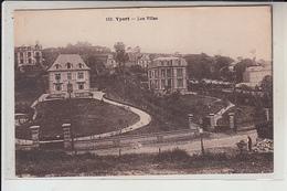 76  - YPORT -  Les Villas  ( Oblitèrée Expo Coloniale De 1931 ) - Yport