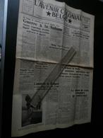 L'Avenir Colonial Belge 45 Du 15 Février 1954 : Congo, Kivu, Boma, Anderlecht, - Kranten