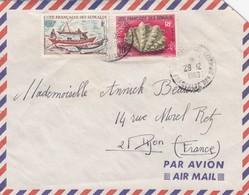LETTRE.  COTE DES SOMALIS - Lettres & Documents