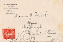 1910 GEX – MALLEMORT 15-178 - Poststempel (Briefe)