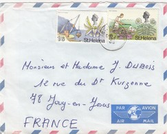 LETTRE.  ST HELENA - Sainte-Hélène